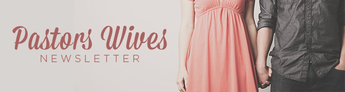 Pastors Wives Newsletter Banner